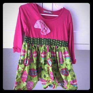 Girls Christmas dress toddler size 4T